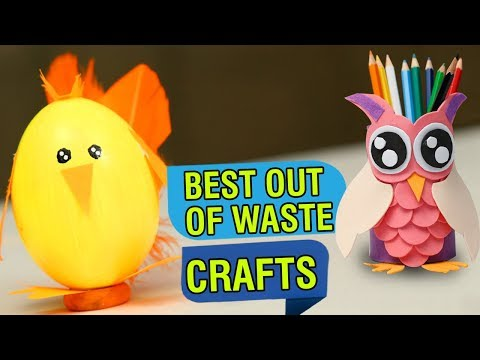 5 Best Out Of Waste Craft Ideas | Recycled Craft Ideas | DIY Crafts With Magazine Paper | Easy DIY