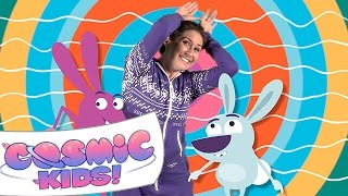 Cosmic Kids Yoga Disco | Bunny Bounce!