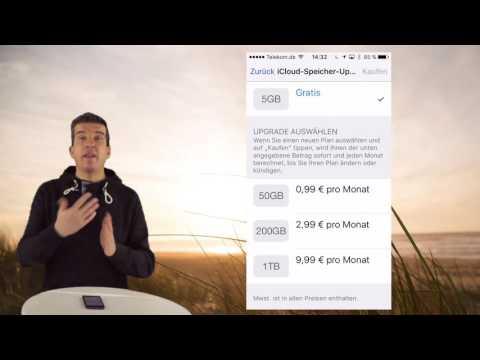 Speicherverwaltung am iPad und iPhone