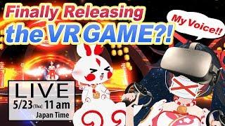 【LIVE】Finally Releasing the VR Game?! ~VRゲーム今度こそ発売か?!~【POLYfuru feat. MIYA KIMINO / ポリフる feat.キミノミヤ】
