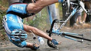 Top Tour De France Cycling Crashes - EPIC DANGEROUS SPORTS