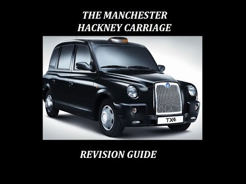 MANCHESTER hackney carriage revision guide  THEATRES