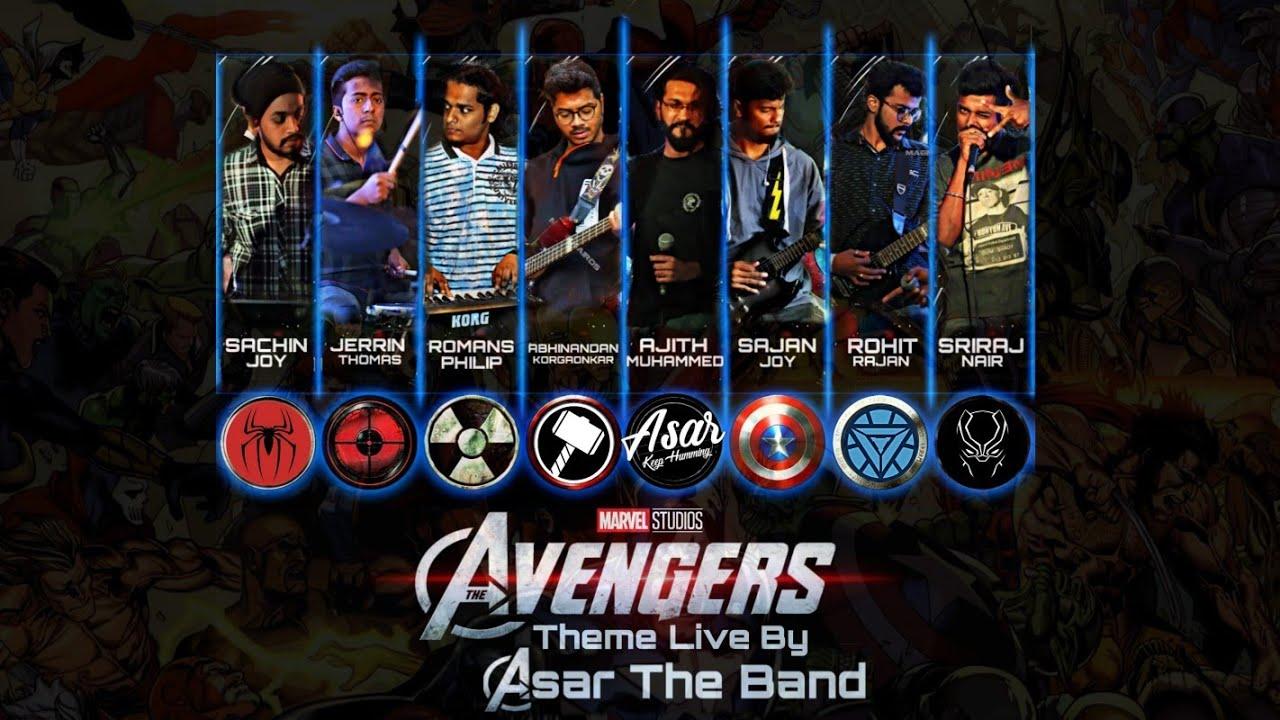 The Avengers Theme Live | Asar The Band | Marvel Studios
