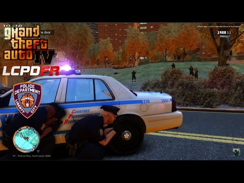 GTA IV - LCPDFR 1.1 - LCPD/NYPD - Large Shootout/Officer Down/ESU Called