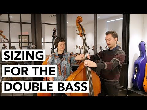 How To Choose The Right Size Double Bass