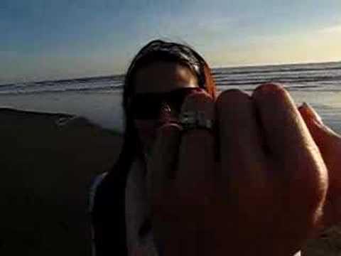 Stinson Beach Engagement- Post Proposal Moment