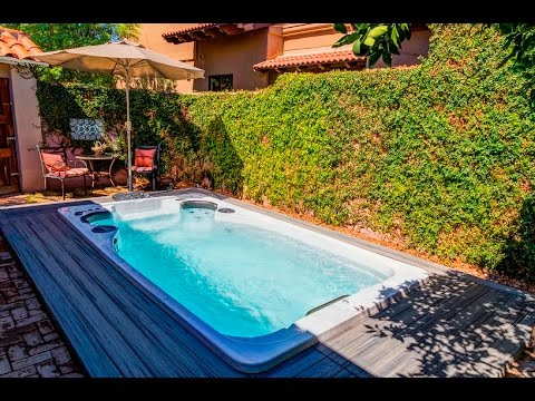 Hydropool Swim Spa - YouTube