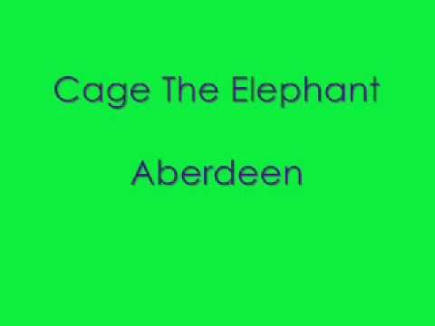 Cage The Elephant Aberdeen *with lyrics