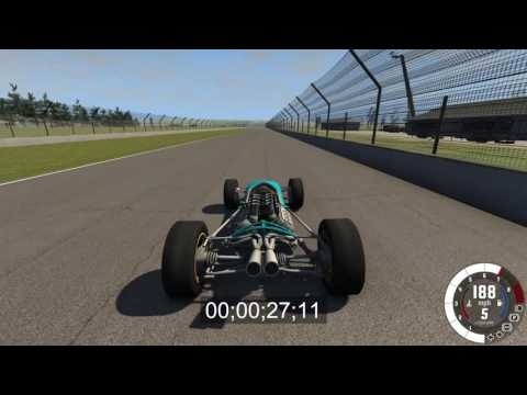 BeamNG.Drive; Indy car racing at Indianapolis!