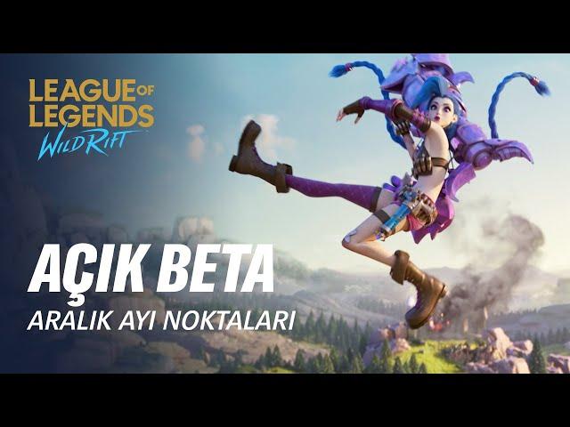 Aralıkta Açık Betaya Katılacak Bölgeler | League of Legends: Wild Rift