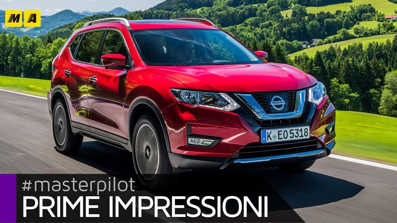 nissan x trail 2017 ecco il restyling del suv a 7 posti 5 2 nipponico youtube. Black Bedroom Furniture Sets. Home Design Ideas