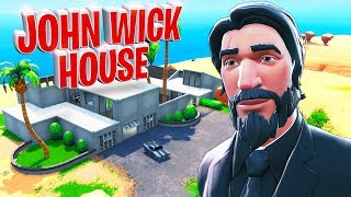 *NEW* JOHN WICK'S HOUSE In SEASON 9!! - Fortnite Funny WTF Fails and Daily Best Moments Ep. 1101