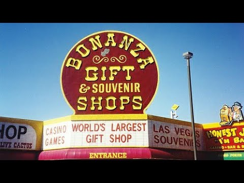 "Las Vegas Largest Souvenir Shop ""Bonanza"""