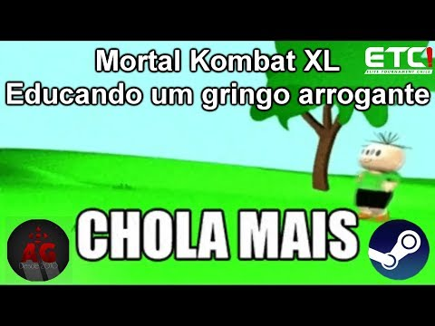 MKXL: EDUCANDO UM GRINGO - ETC | Aramos [BR] (Shinnok) VS [EwG] #THE|GoD|OF|WaR!*| (Kung Lao)