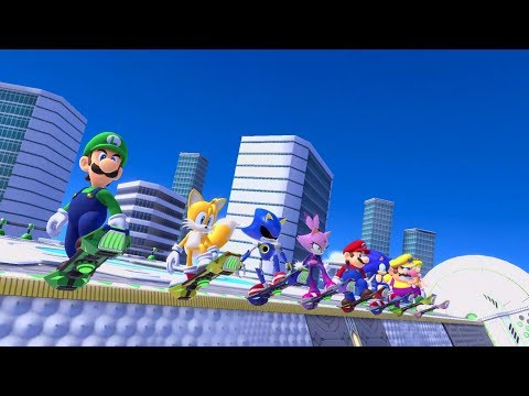 Mario & Sonic at the Olympic Games Tokyo 2020 Switch Game's Trailer Previews Dream Events