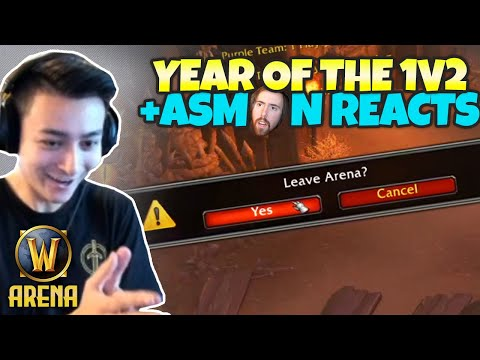 The Year Of The 1v2 + Asmon Reacts To Pikaboo | WoW Arena