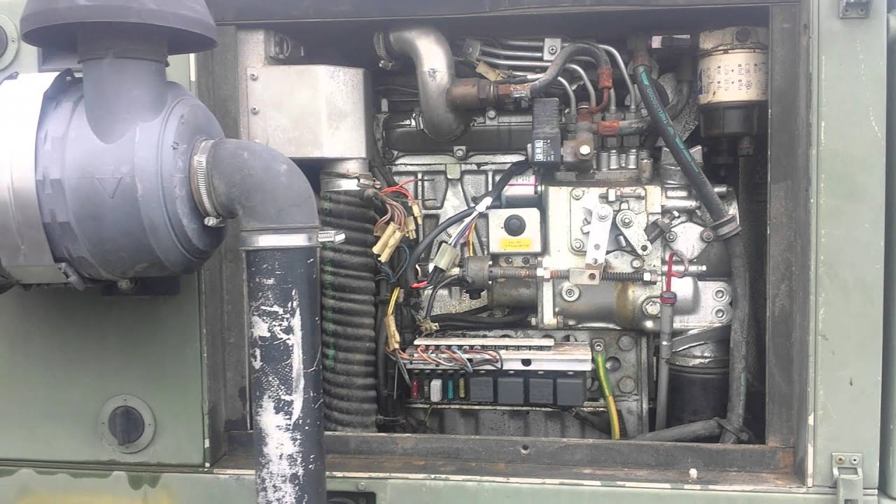 Fischer Panda SST18 Tunnel 18kW Diesel Generator 120 208 3 Phase