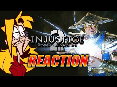 DOODS REACT: Raiden/Black Lightning Reveal (Injustice 2)