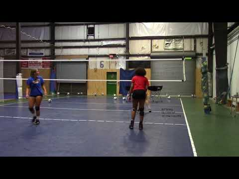 Olivia Mitchell Class 2019 Right Side Hitter M2 Training