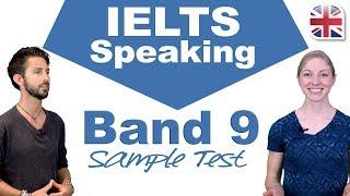 IELTS Speaking Band 9 Sample Test