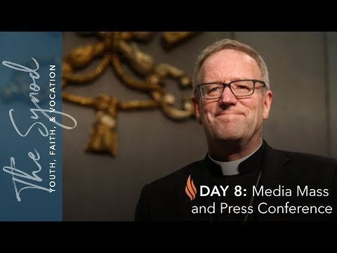 Word From Rome - Day #8 - Media Mass and Press Conference