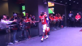 Chiefs head to the locker room after 26-14 win over the Arizona Cardinals