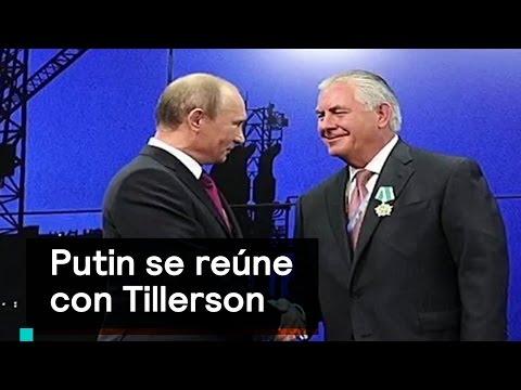 Vladimir Putin recibe al Secretario de Estado de EE.UU. - Despierta con Loret