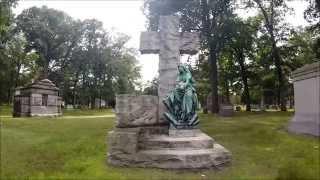 Woodlawn Cemetery, Detroit, MI [HD] 23 min