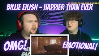 LET OUT HER ANGER!? Billie Eilish - Happier Than Ever (Official Music Video) | Reaction!!