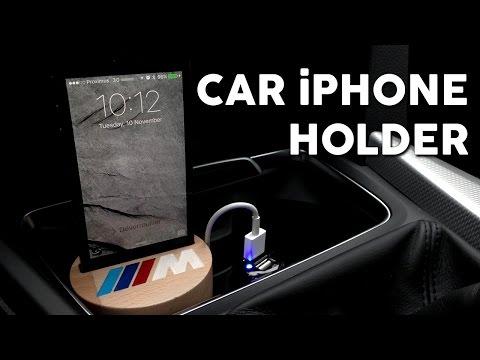 DIY Car iPhone Holder