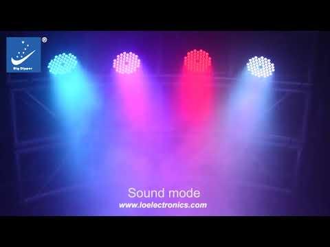 PAR LED LPC007 H 54X3W 3 IN 1 RGB LED PAR 2