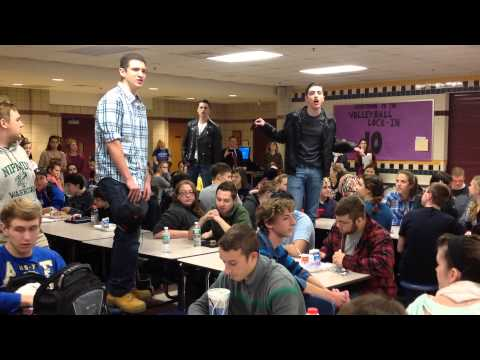 Grease: Nipmuc Flash Mob