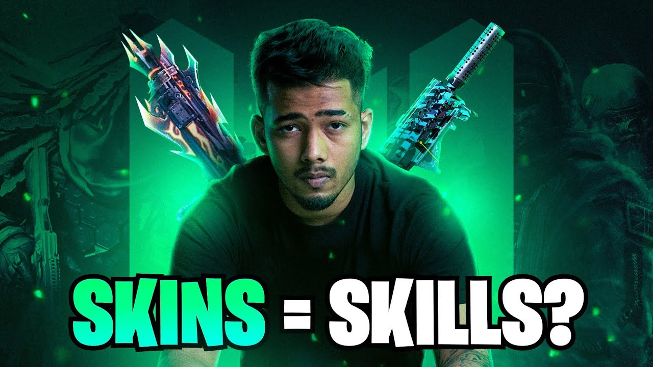 Can SKINS Get me SKILLS? • Let's Find Out! | sc0ut