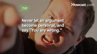 How to Deal with People Who Like to Start Arguments
