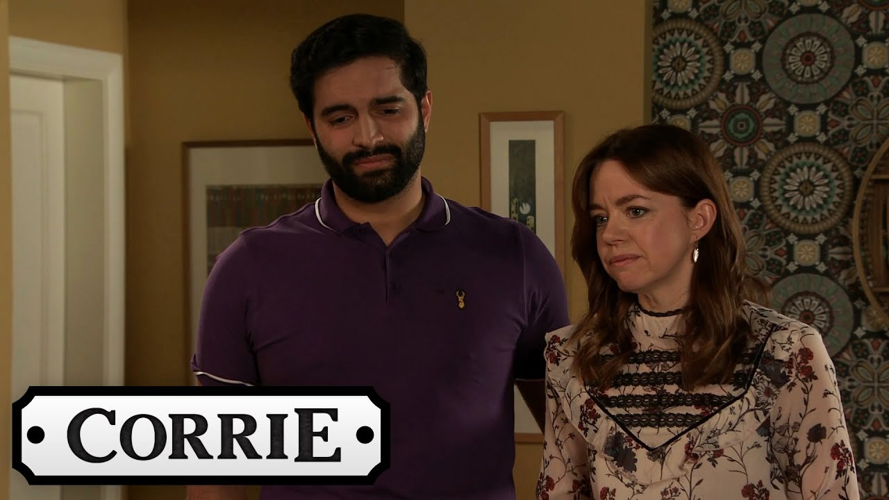 Toyah and Imran Put Their Fostering Plans On Hold | Coronation Street