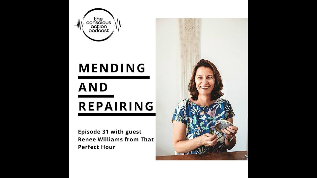 Mending & repairing with Renee Williams