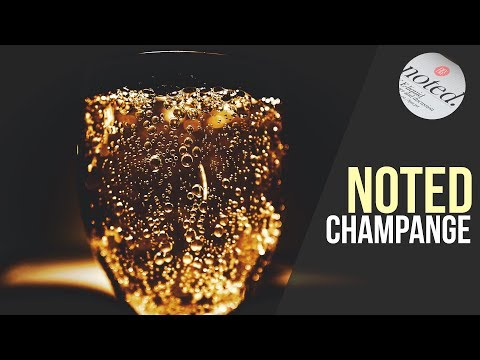 Noted: Ep. 23 - Champagne (DIY E-liquid Flavoring Notes)