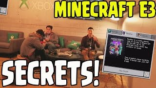 Minecraft PE/Xbox/PS4 MODS CONFIRMED AT E3!