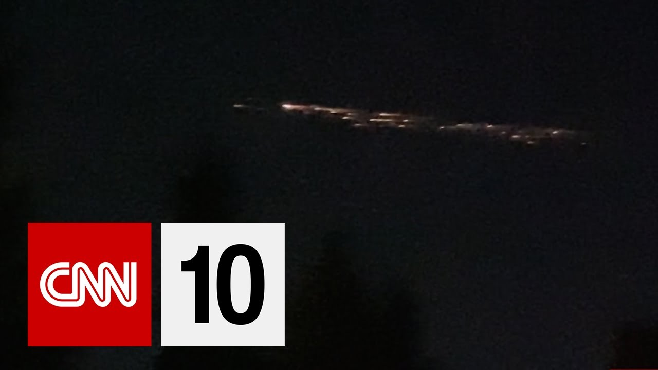 Mysterious Debris In The Sky