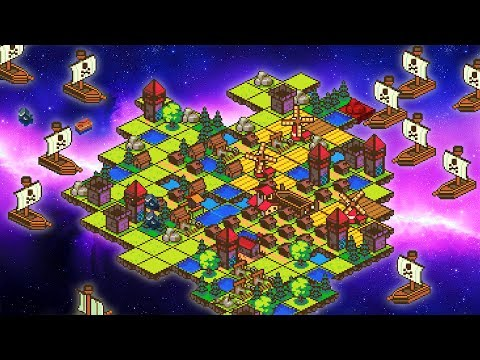 Space Pirates vs My Planet! Kingdoms and Castles in Space! (Little Lands Gameplay)