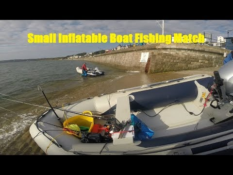 Small Inflatable Boat Fishing Match