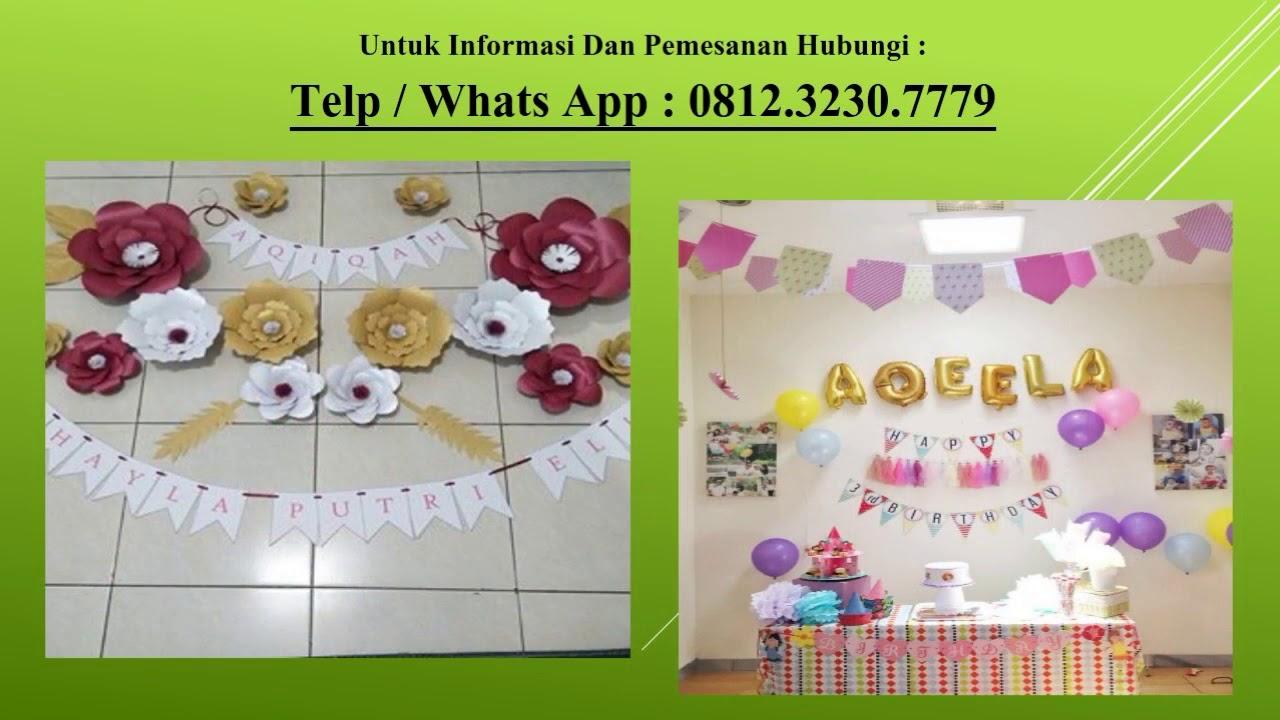 Telp Wa 0812 3230 7779 dekorasi akikah sederhana dekorasi akikah anak perempuan