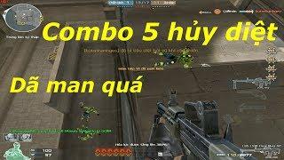 [ Bình Luận CF ] L86 LSW-Dual Mag AP - MG 2 băng đạn - Tiền Zombie v4