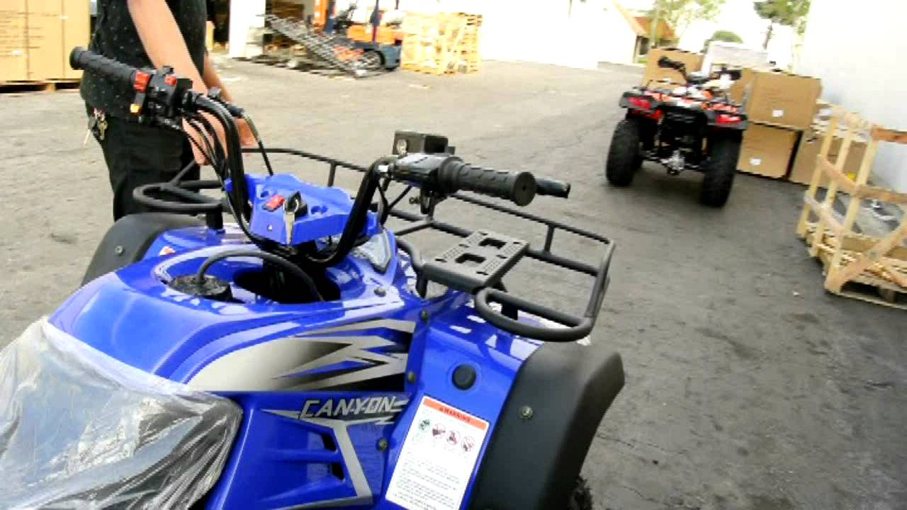 Frontier 250cc ATV Video by David T