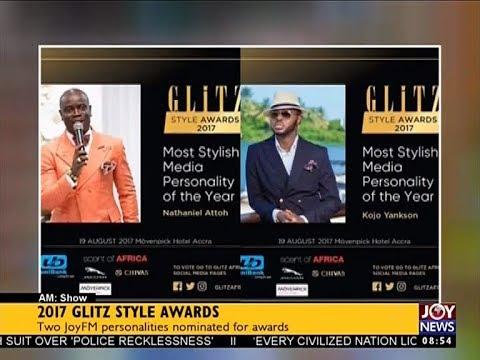 2017 GLITZ Style Awards - AM Showbiz on JoyNews (18-8-17)