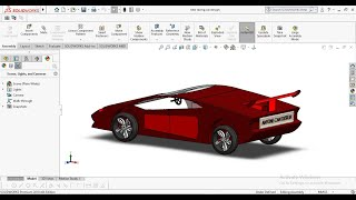 New racing car design with motion in solidworks   solidworks tutorial   Anyone can design