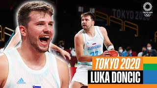 🏀 The BEST of Luka Doncic 🇸🇮 at the Olympics