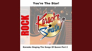 One Vision / Tie Your Mother Down (Live) (karaoke-Version) As Made Famous By: Queen