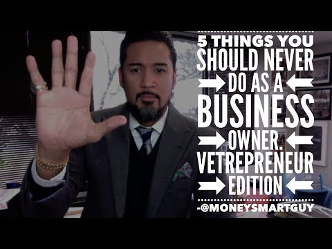 5 Things You Should Never Do as a Business Owner