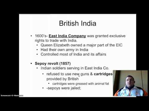 British Influence in India